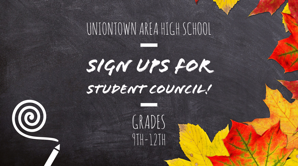 UHS Student Council Sign Ups