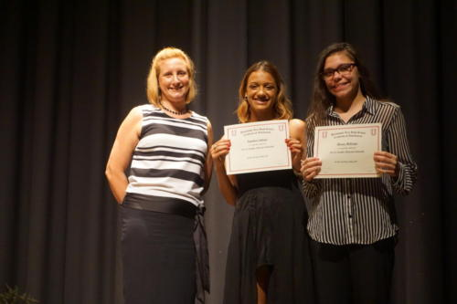 Awards Night 2018 Mrs Kezmarsky T'ombae Eddings Kierra Mccargo