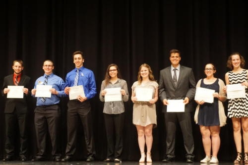 Awards Night 2018 Silvo Urani Daniel Myers Connor Demoss Kierra Mccargo David Eitner  Abbigail Felix  Megan Kaplan